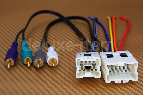 Premium Sound System Wiring Harness For Installing
