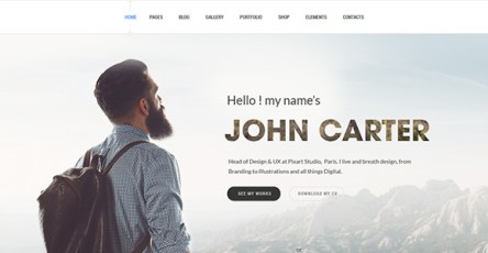 TheJ Creative WordPress Portfolio Theme