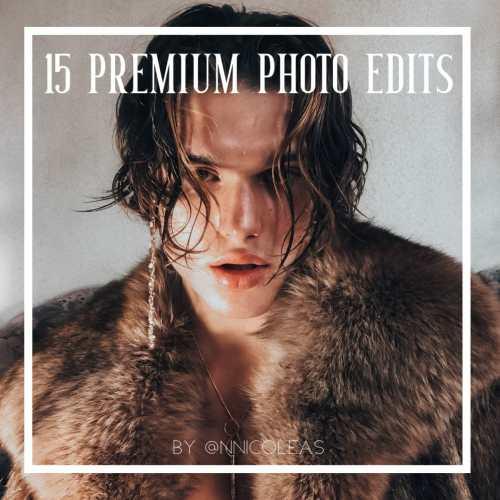 15 Premium Photo Edits   Professional Photo Edits   deluxefilters.com