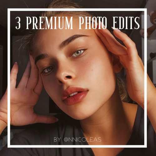 3 Premium Photo Edits | Online Photo Editor | deluxefilters.com
