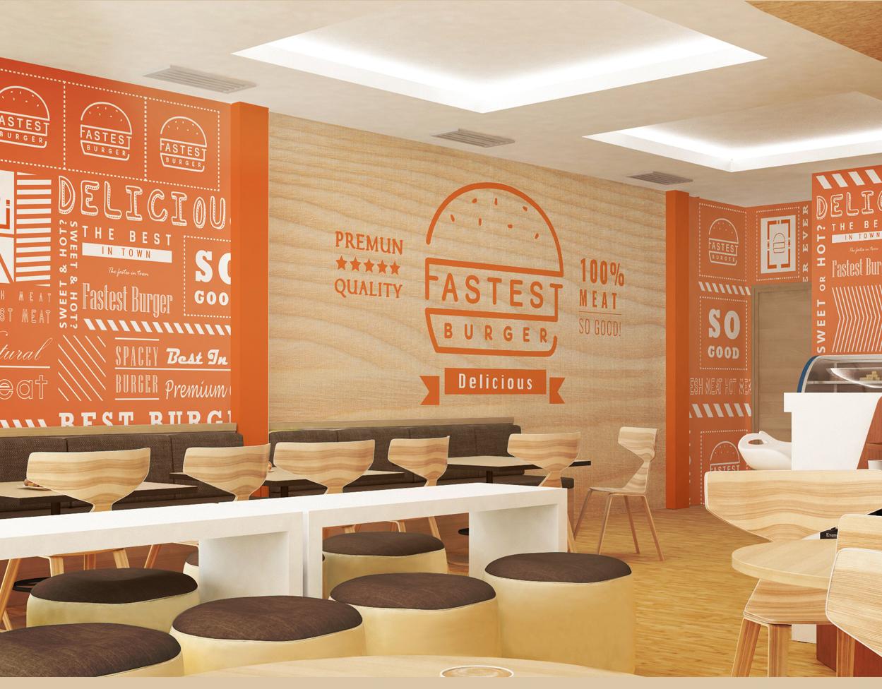 fast burger Deluxe Graphic Studio