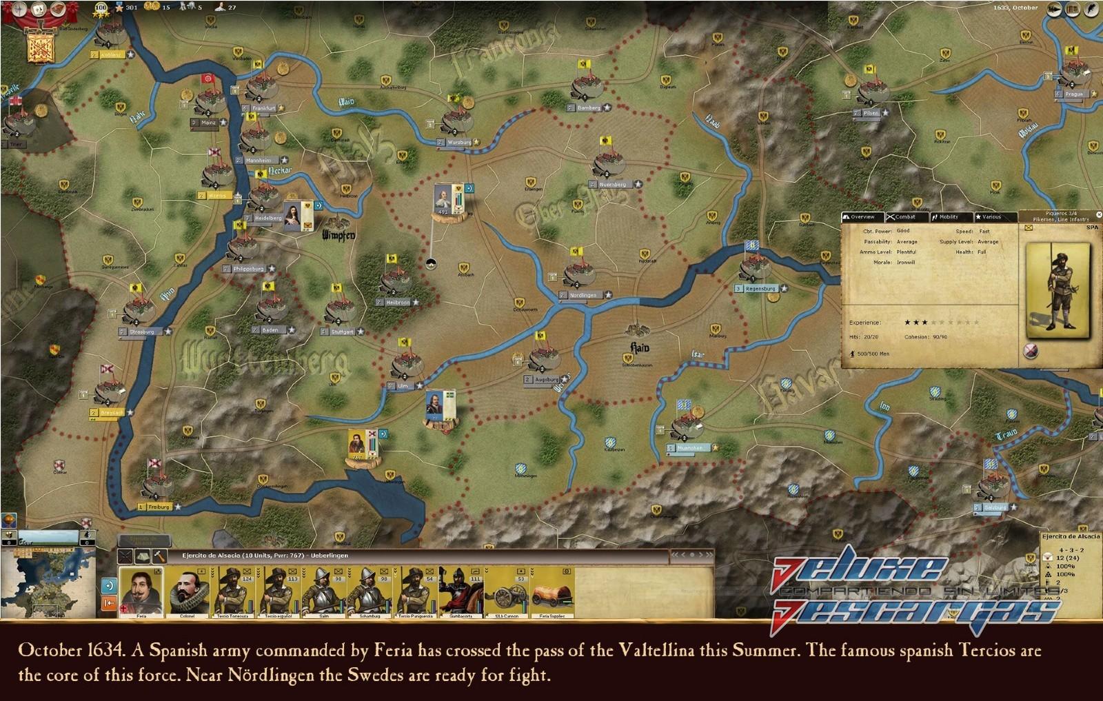 Descargar Thirty Years War Multi Espanol Full Game