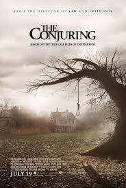 The Conjuring, Warner Brothers horror film.
