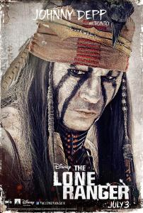 Johnyy depp as tonto