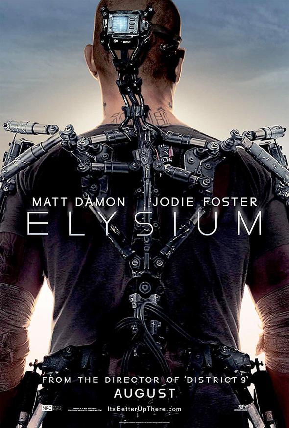 elysium box office movie poster