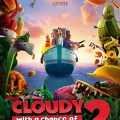 """Cloudy 2"" Rains on the Box Office Weekend"