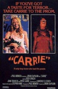 Top Ten Stephen king Films Horror movies Carrie