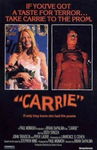 Top Ten Stephen king Films Horror movies Carrie