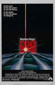 Top Ten Stephen king Films Horror movies The Dead Zone
