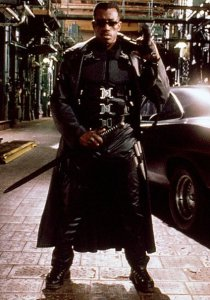 Bloodrayne retro Movie Review - wesley snipes in blade