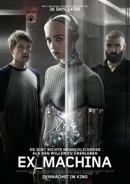 New Movie Reviews this week, Ex Machina