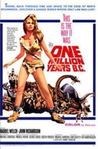 Top Ten Best Dinosaur Films! 1,000,00 Years BC (1966)