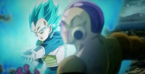 With fan favorite Vegeta receiving an upgrade, this should be a great chance to give him some screen time...and nope, the movie's over.  Goddammit, Kakarot!