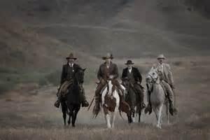 Saddle up, boys.