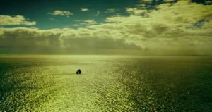 Lost at sea.