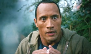 the rock and jumanji movie news