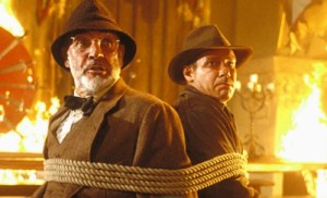 Indiana Jones and the Last Crusade, Harrison Ford, Sean Connery