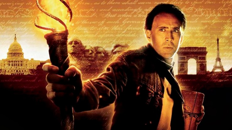 National Treasure, Nicolas Cage