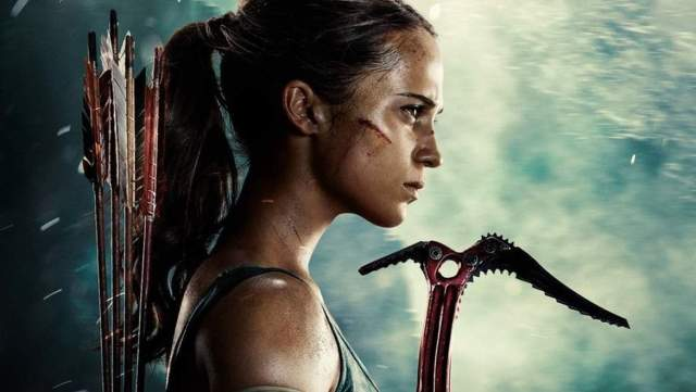 Alicia Vikander, Tomb Raider