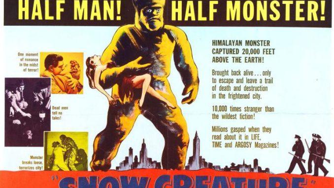 Retro Review: The Snow Creature (1954).