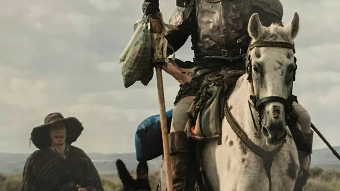 Coming Soon Trailers: Hellboy, The Man Who Killed Don Quixote.