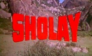 Retro Review: Sholay (1975).