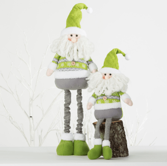 Santa Christmas Figurines from Bed, Bath & Beyond $22.40 and $17.40