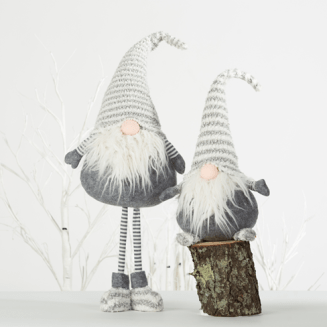Santa Christmas Figurines from Bed, Bath & Beyond $19.90 and $12.40