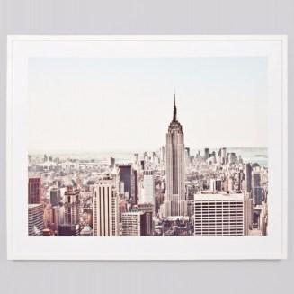 Framed Print New York from ShutTheFrontDoor $429.00