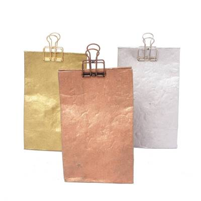laag zakje lokta metallic