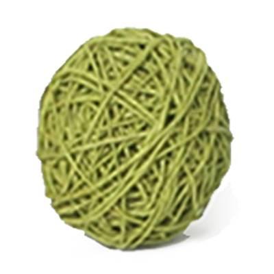 Papier koord lemon green