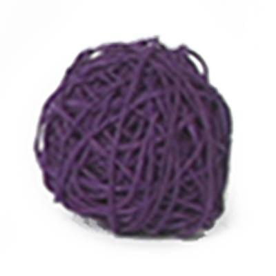Papieren koord met ijzerdraad violet