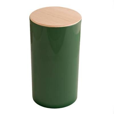 rond hoog hout donker groen