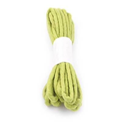 Vilt koord dik lemon green