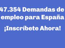 47.354 Demanda empleo para España