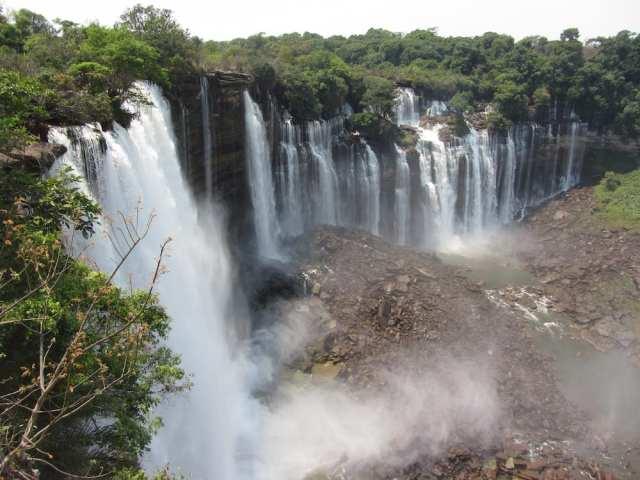 African Waterfalls Kalandula