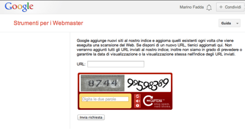 Strumenti per webmaster