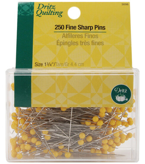 Dritz® Fine Sharp Pin 1-3/4''-250/pkg