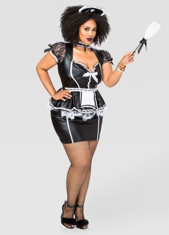 Sexy Maid Plus Size Costume