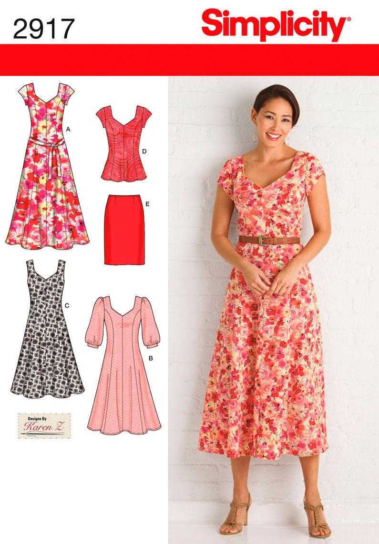 Maxi dress patterns plus size retro