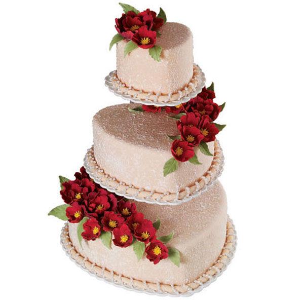Stucco Trio Cake Wilton