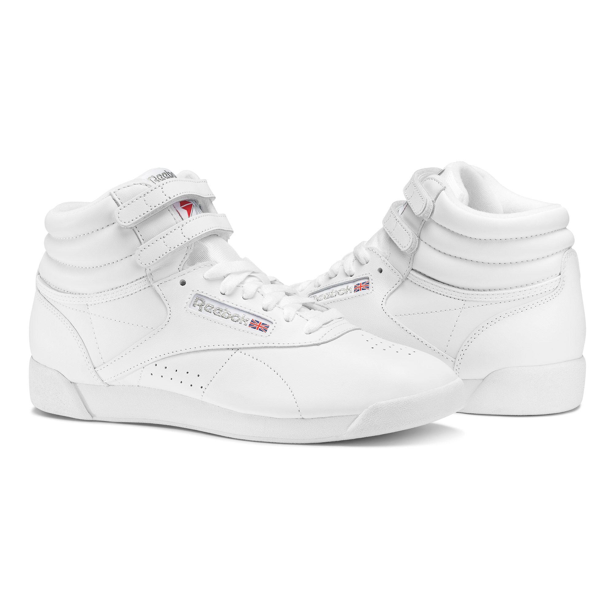 Reebok - Freestyle Hi White / Silver 2431