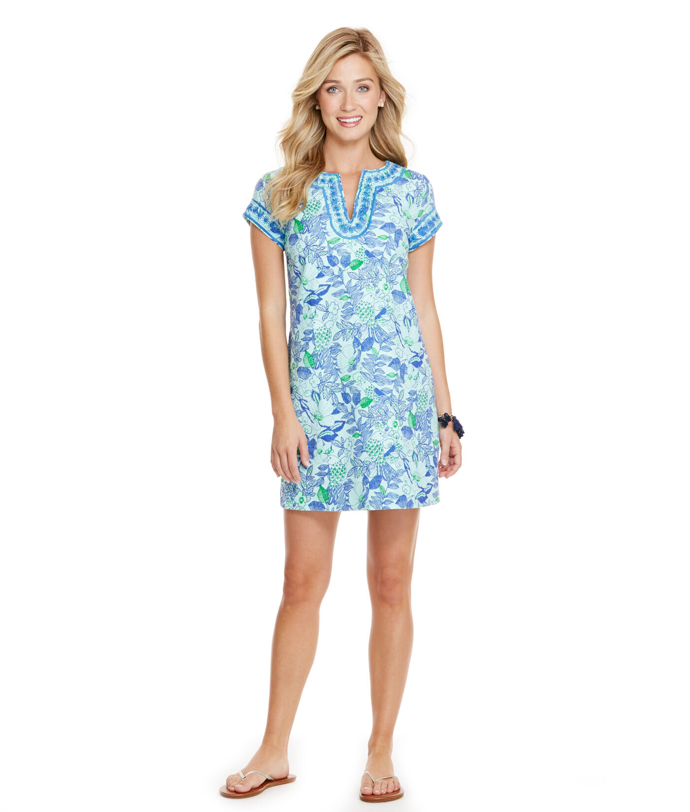 Cordia Floral Tunic Dress