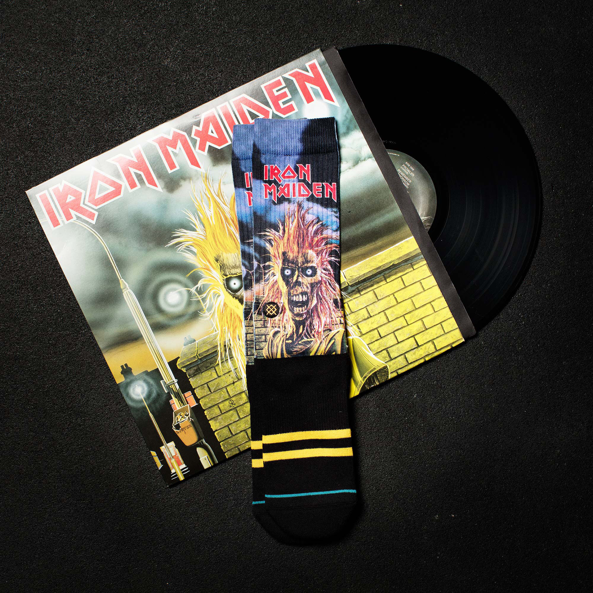 Iron Maiden Socks Legends Of Metal Collection By Stance