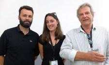 Arno Diaz, Sophie Bergounhon (Ax Animation), Jacques Bétillon (Université Jean Jaurès)