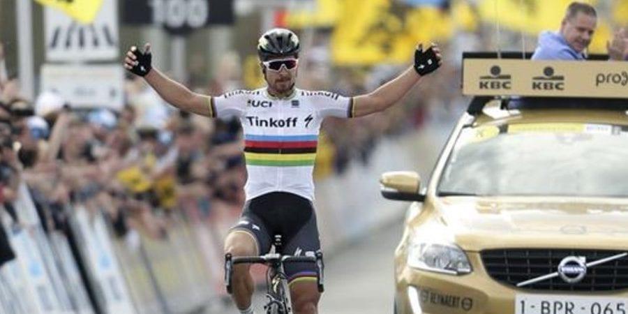 Peter Sagan gana el Tour de Flandes
