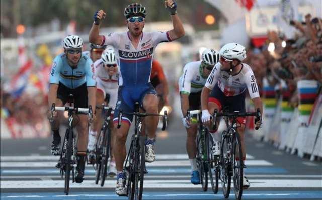 Peter Sagan gana el Campeonato del Mundo de Doha