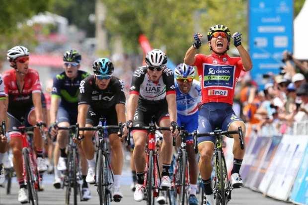 Caleb Ewan gana la 6ª etapa del Tour Down Under