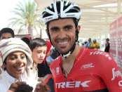 Alberto Contador en Abu Dhabi Tour