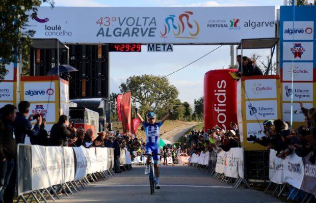 Antunes gana la etapa reina de la Vuelta al Algarve